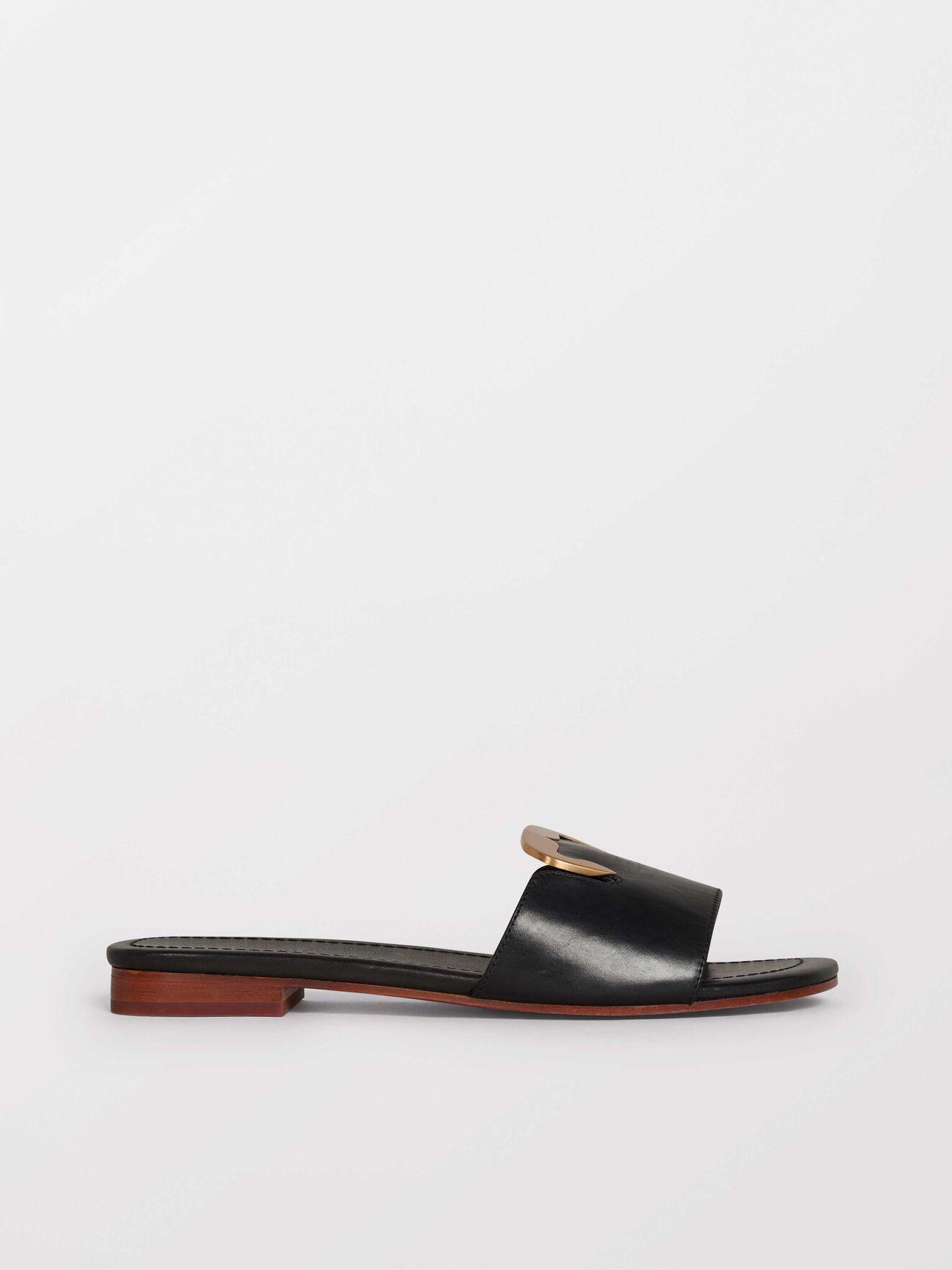 Sisal Sandals in Black from Tiger of Sweden