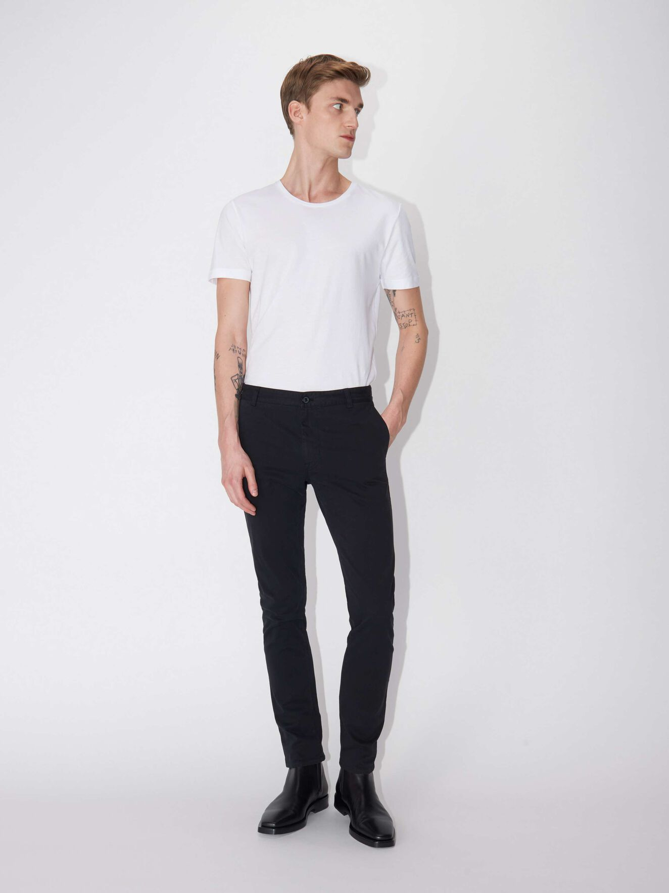 Transit Trousers in Black from Tiger of Sweden