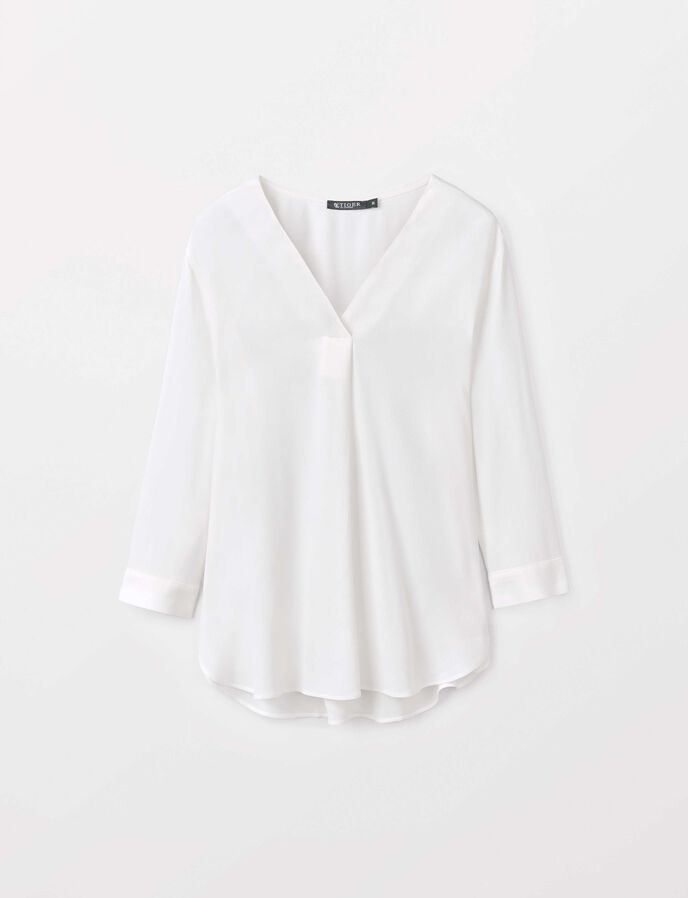 Mere blouse in Star White from Tiger of Sweden