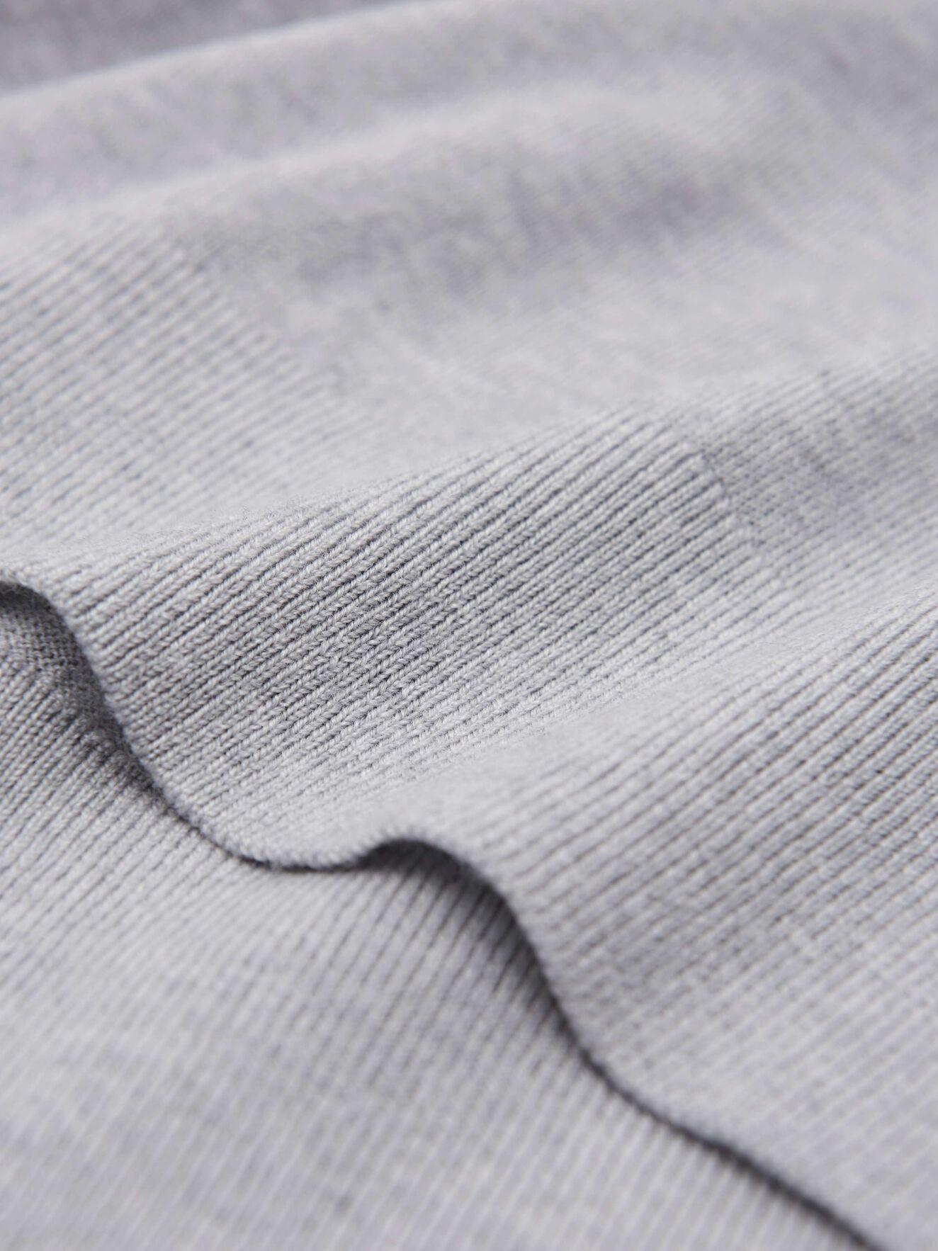 Nevile Pullover in Light grey melange from Tiger of Sweden