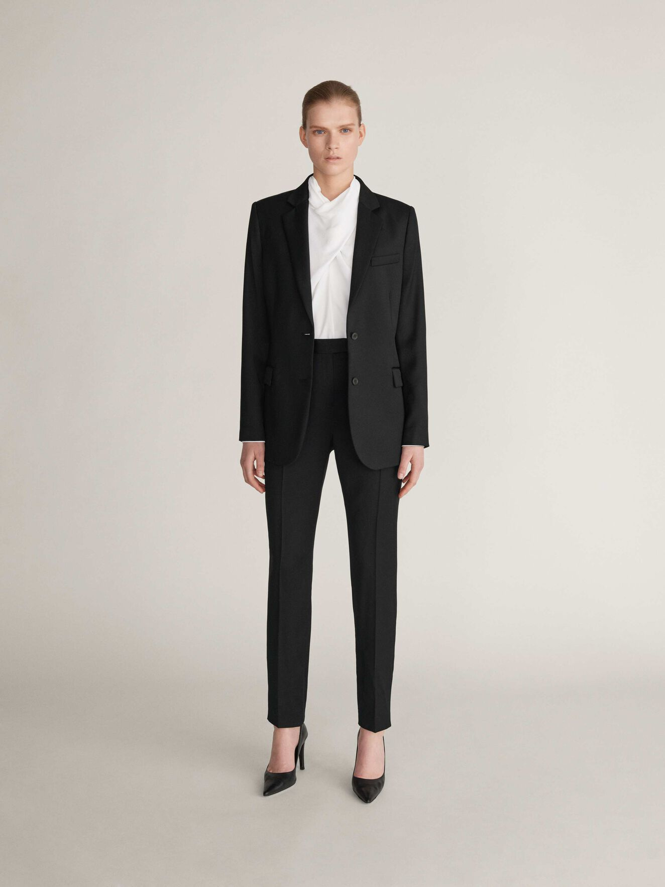 Monoik Blazer in Midnight Black from Tiger of Sweden