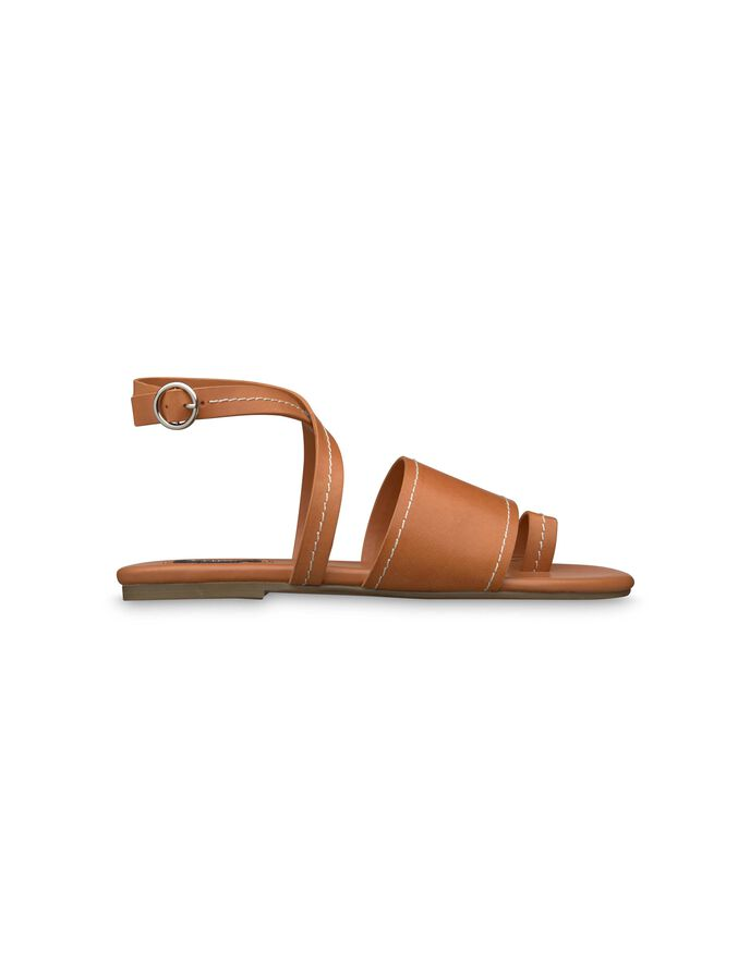 LANCA SANDAL in Mid Brown from Tiger of Sweden