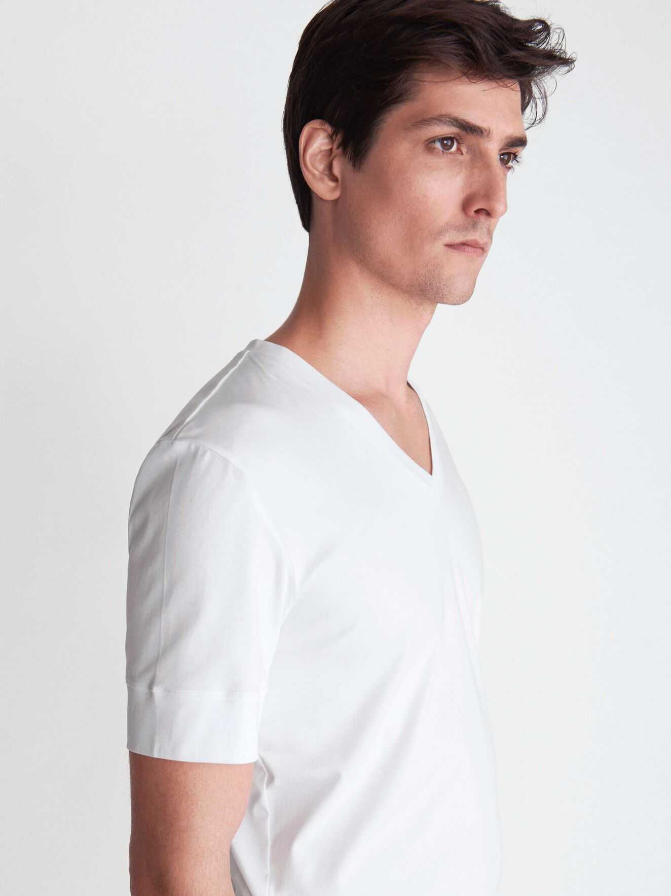 Diyon T-Shirt in Pure white from Tiger of Sweden