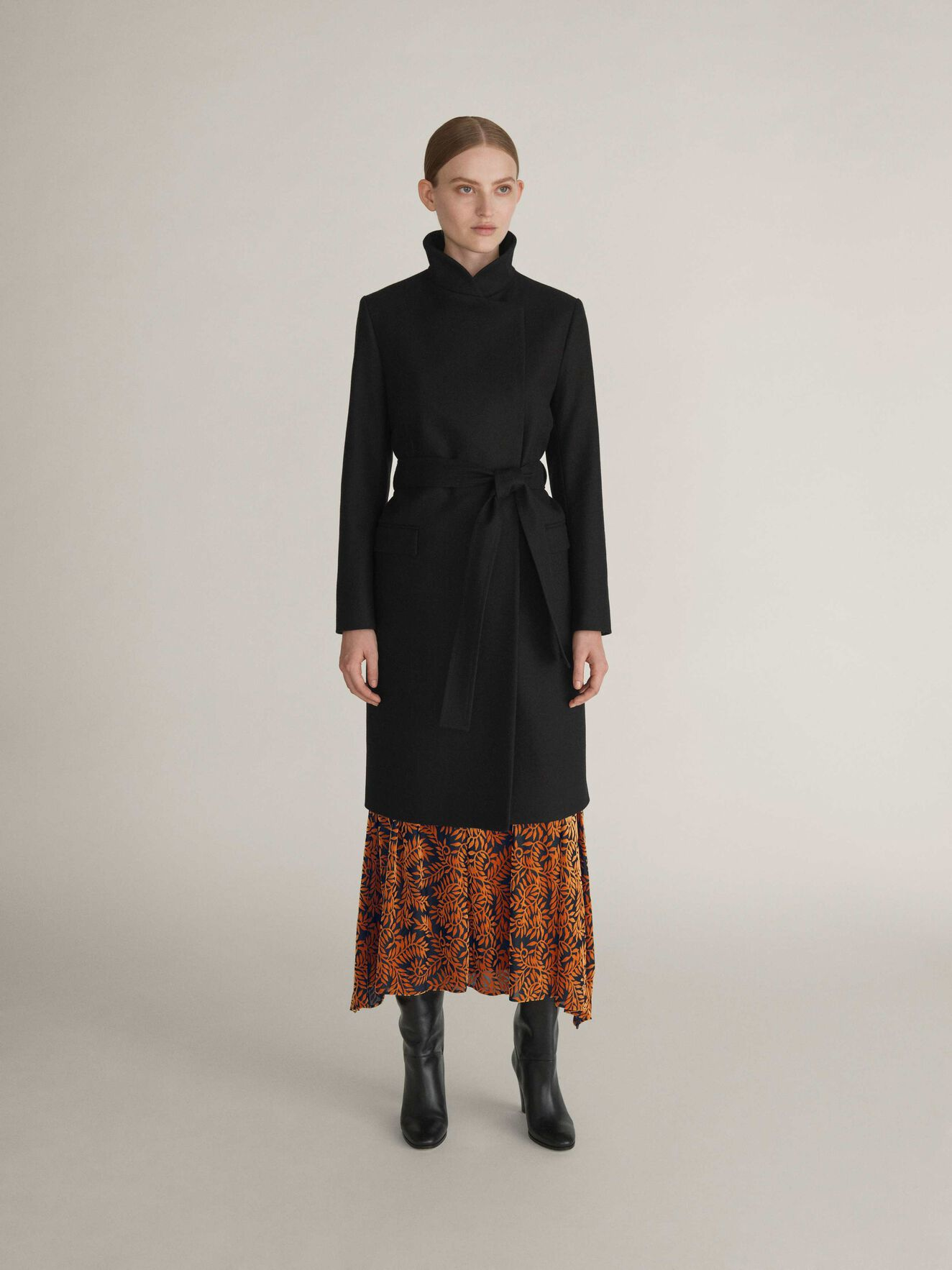 Knopp Coat in Black from Tiger of Sweden