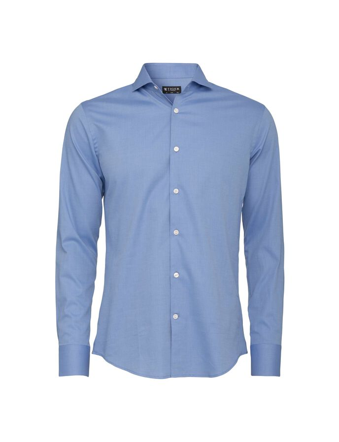 Farrell 5 shirt in Dusty Navy from Tiger of Sweden