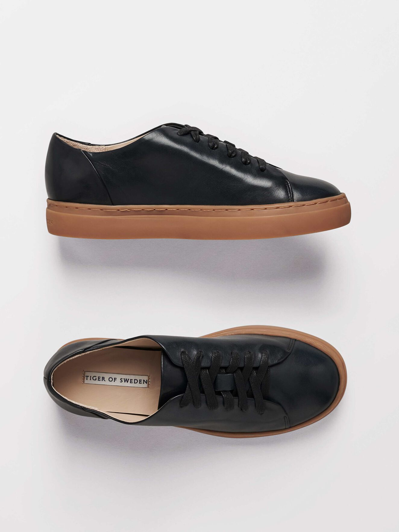 Sinensis Sneakers in Midnight Black from Tiger of Sweden