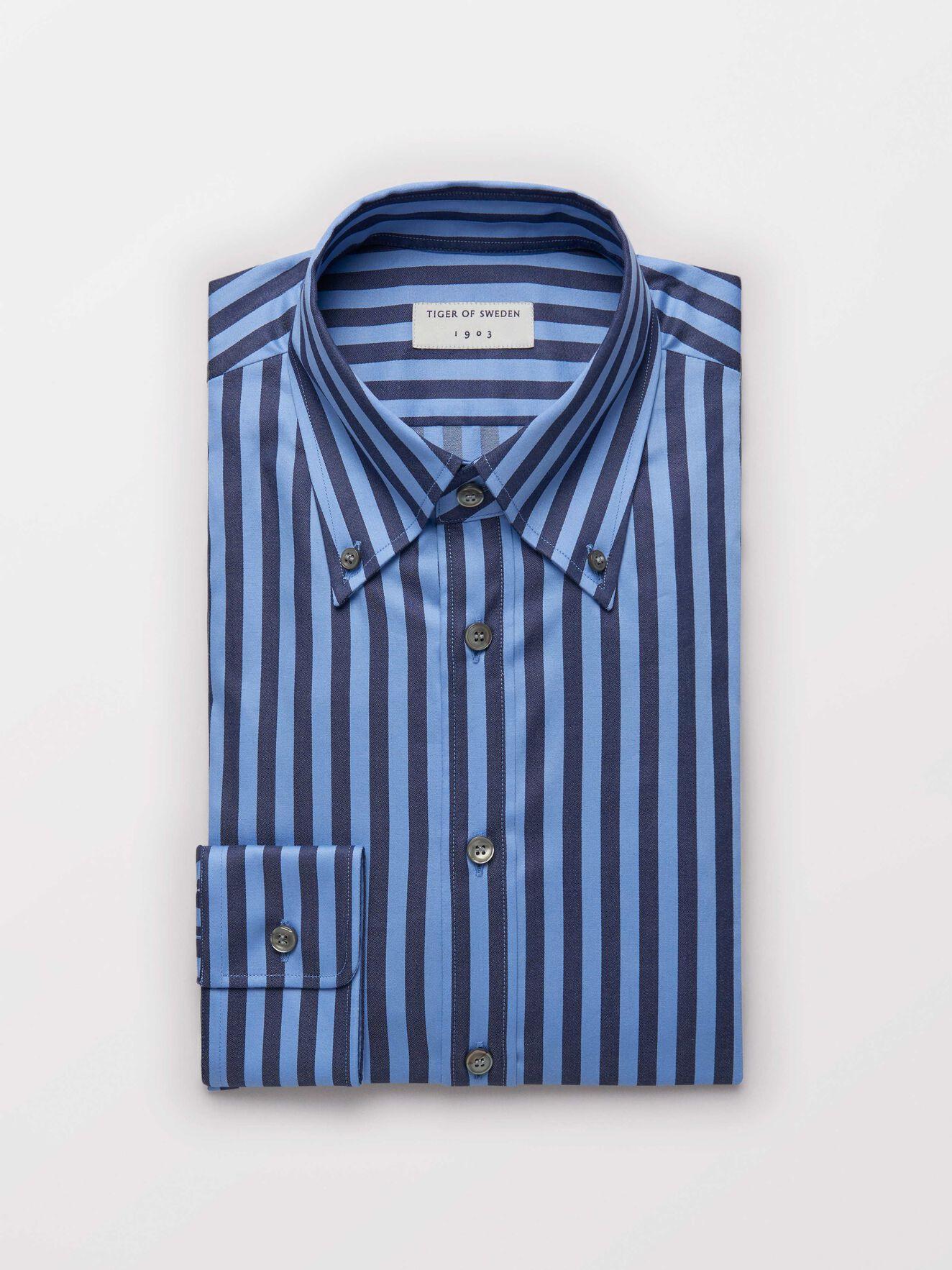 Fablo Shirt in Light blue from Tiger of Sweden