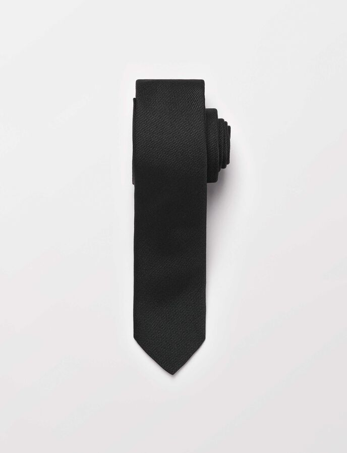 Samuell5 tie in Black from Tiger of Sweden