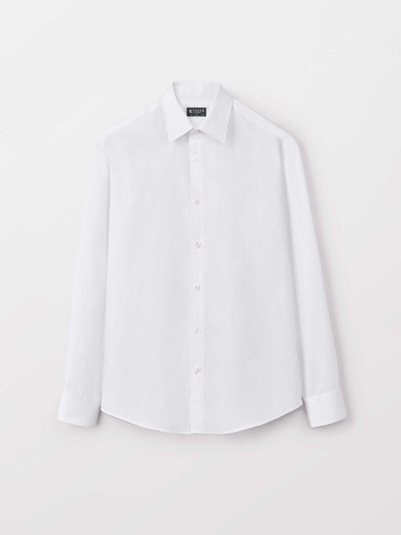 Farrell Shirt in Pure white from Tiger of Sweden