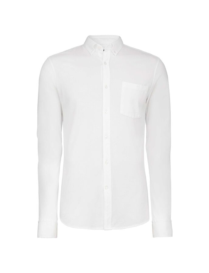 DONALD 4 SHIRT in Pure white from Tiger of Sweden