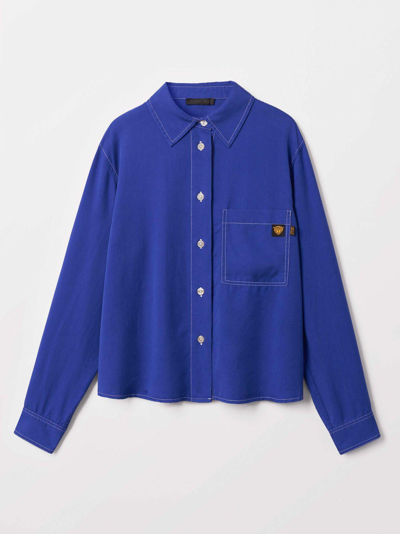 Lee Shirt in Deep Ocean Blue from Tiger of Sweden
