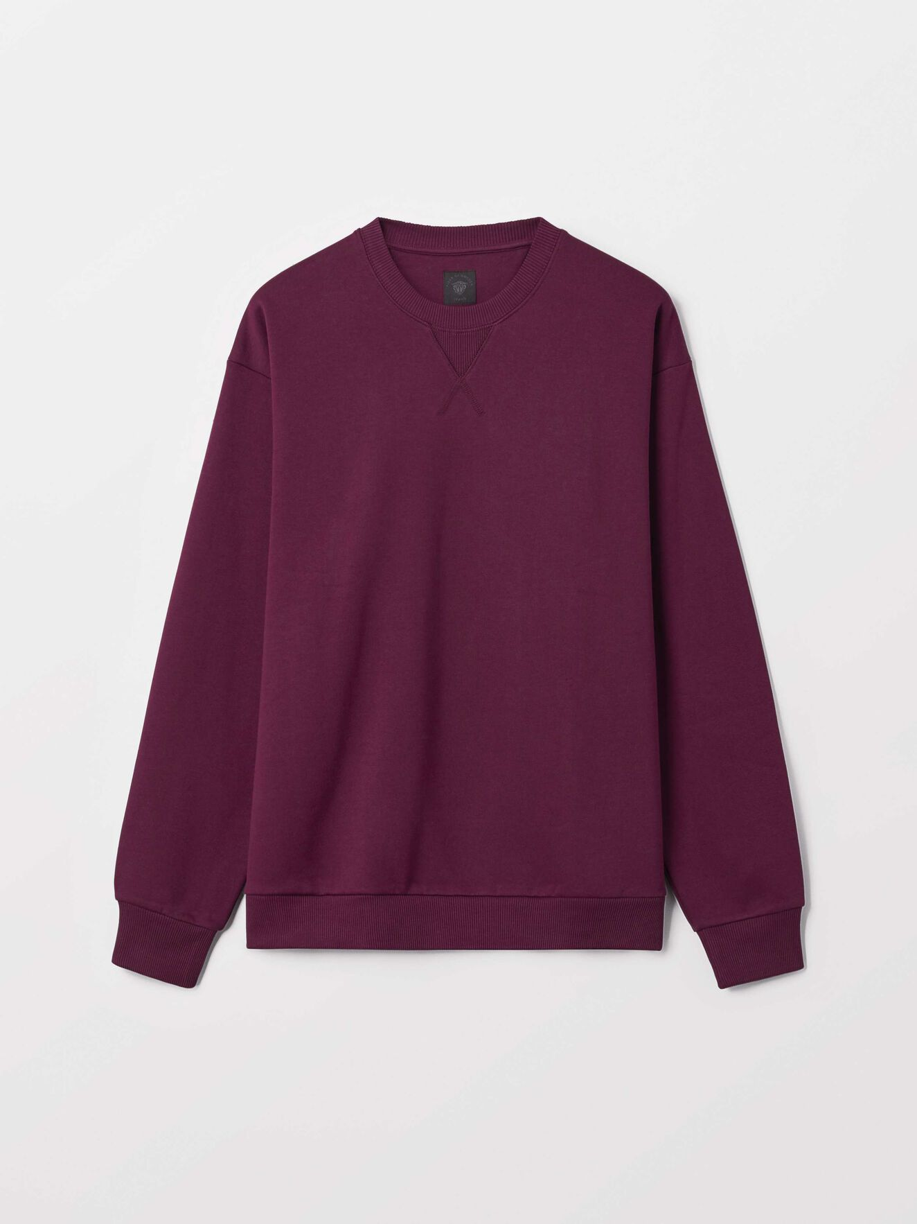 Tom So Sweatshirt in Deep Ruby from Tiger of Sweden