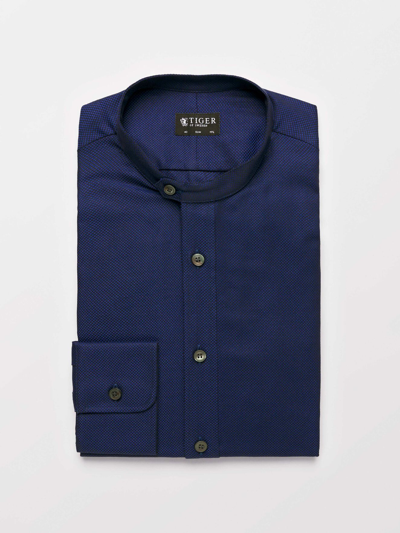 Ferante Shirt in Royal Blue from Tiger of Sweden