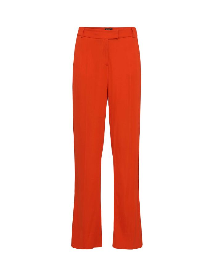 NYX TROUSERS in Flame Red from Tiger of Sweden