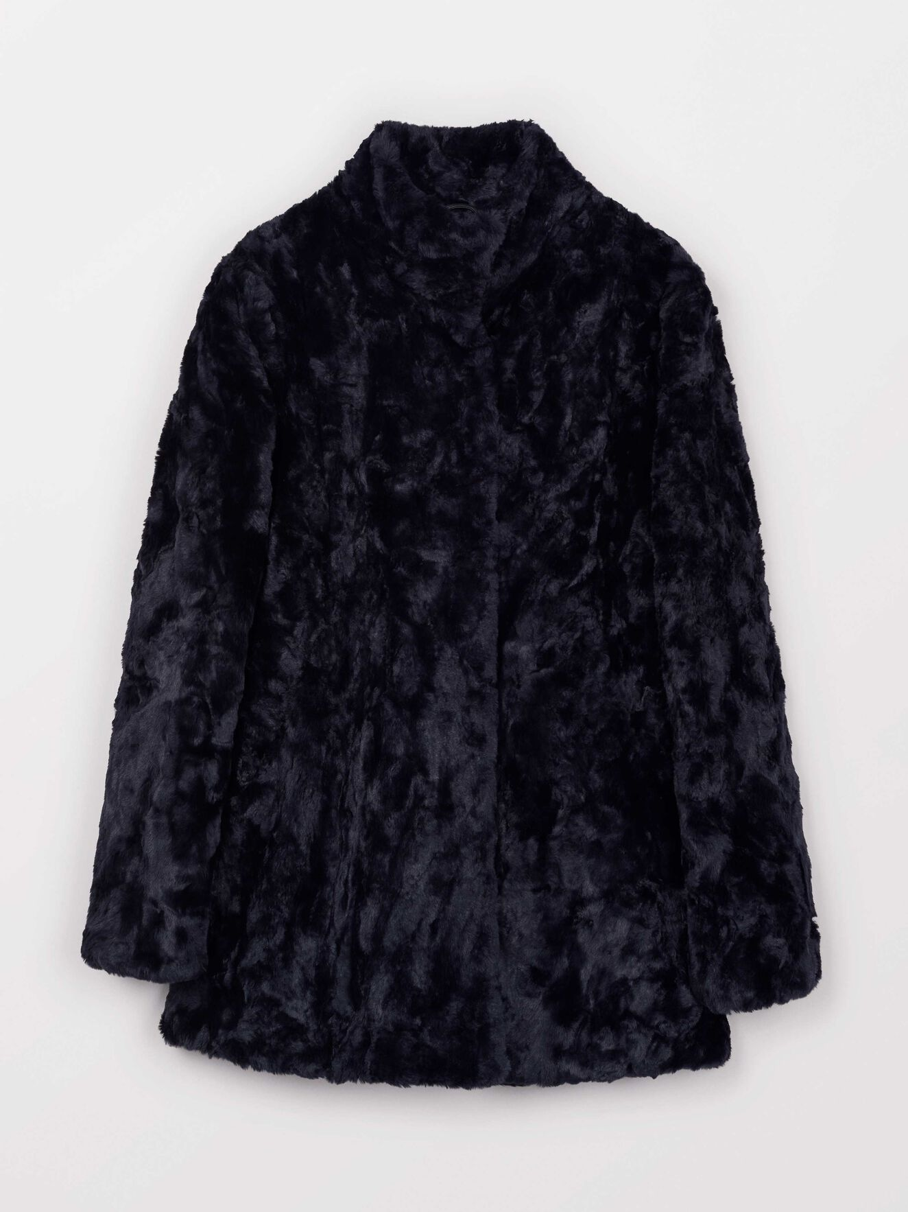 Minimal Coat in Dark Sea from Tiger of Sweden