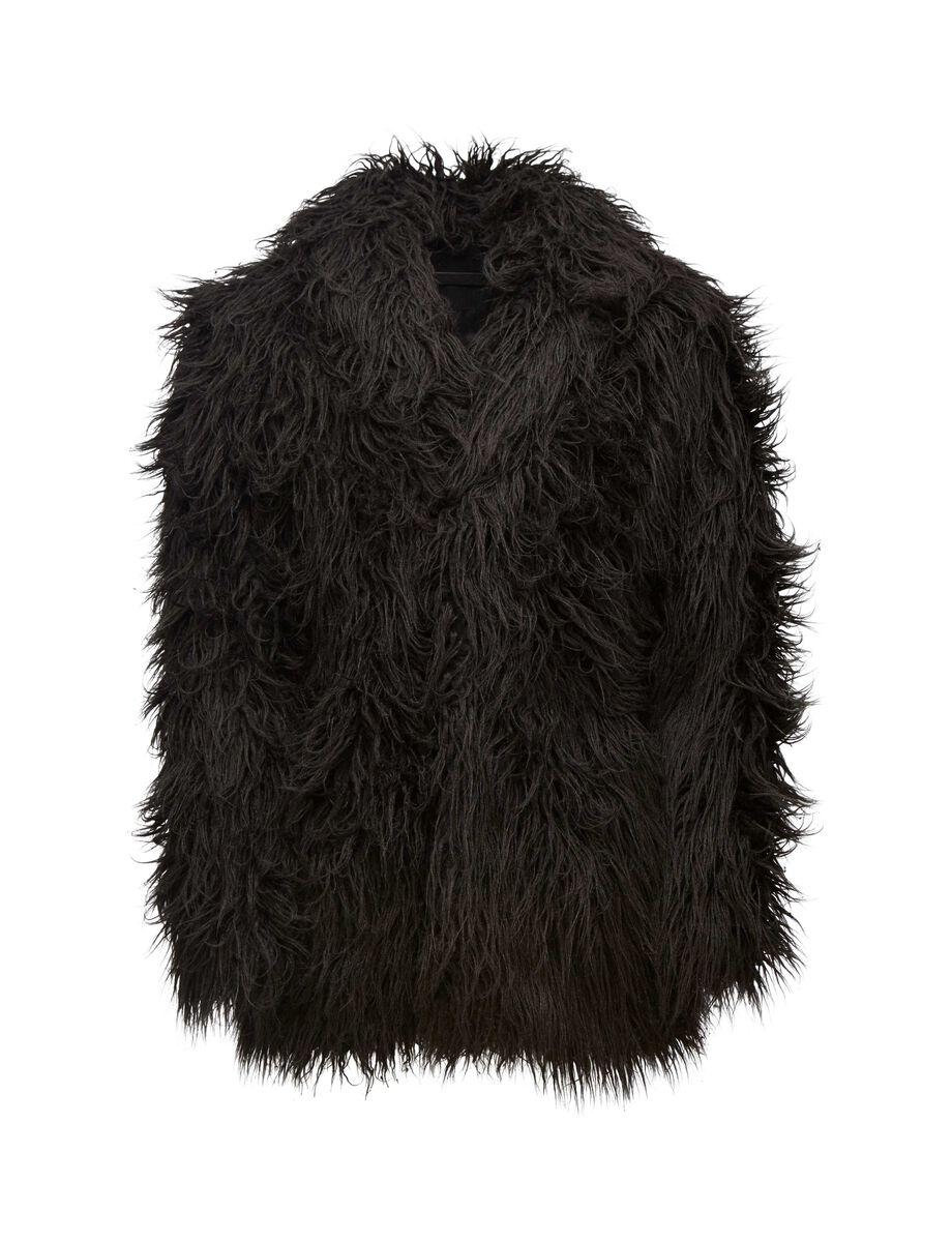 BASTARD COAT in Black from Tiger of Sweden