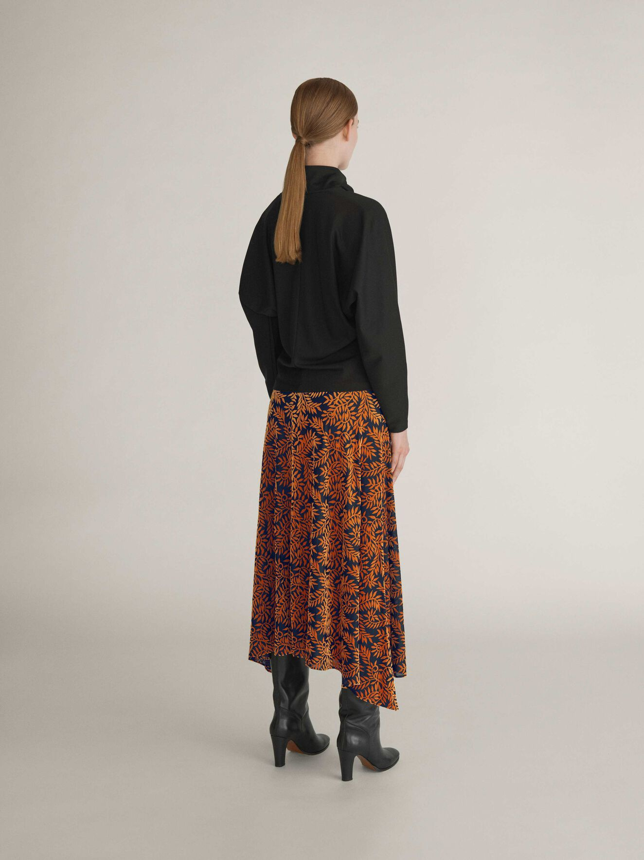 Jilena Top in Midnight Black from Tiger of Sweden