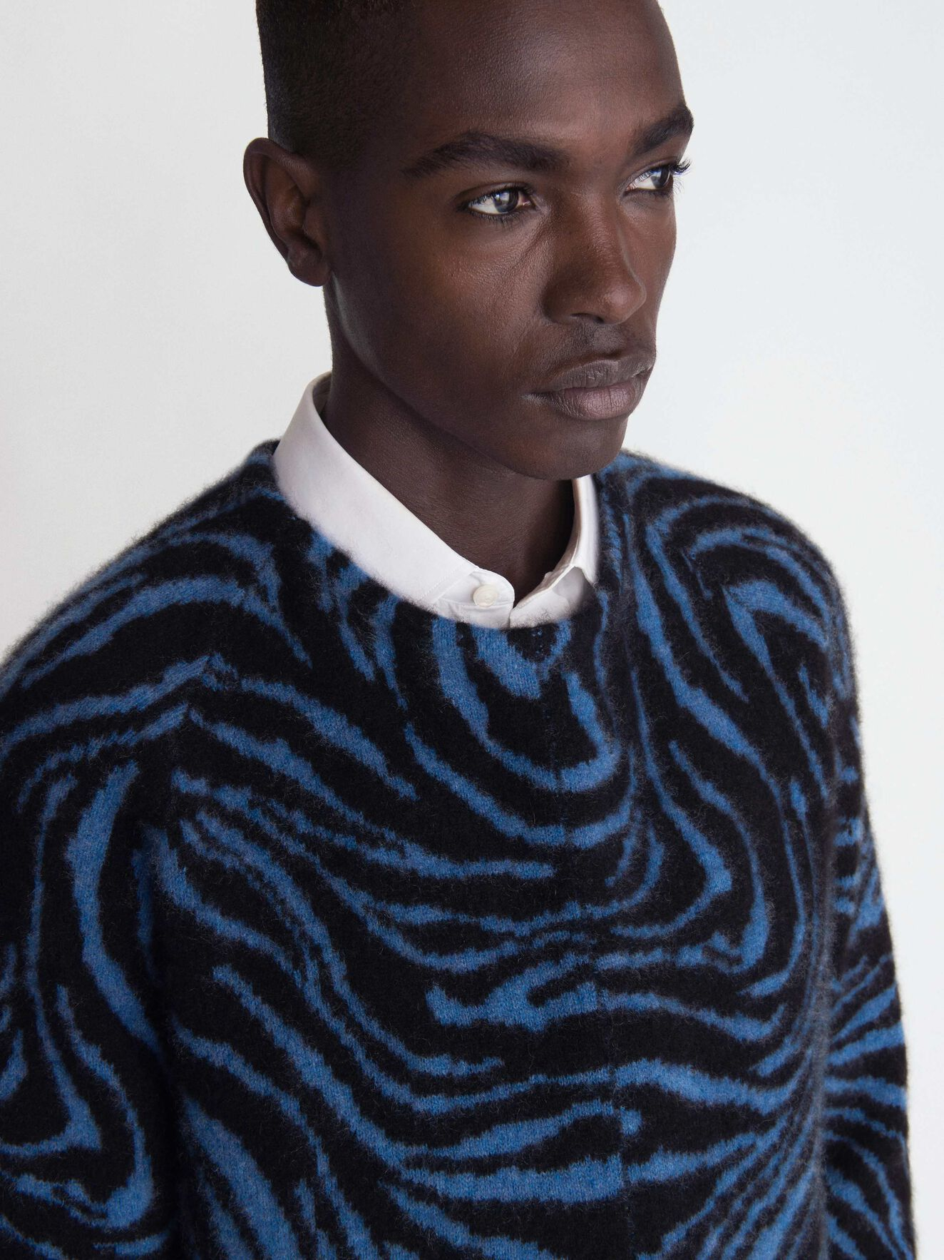 Nexton Pullover in Light Ink from Tiger of Sweden