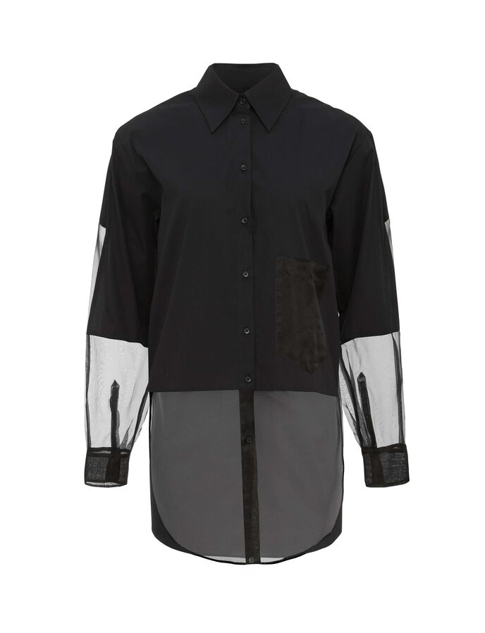 KAKIA SHIRT in Midnight Black from Tiger of Sweden