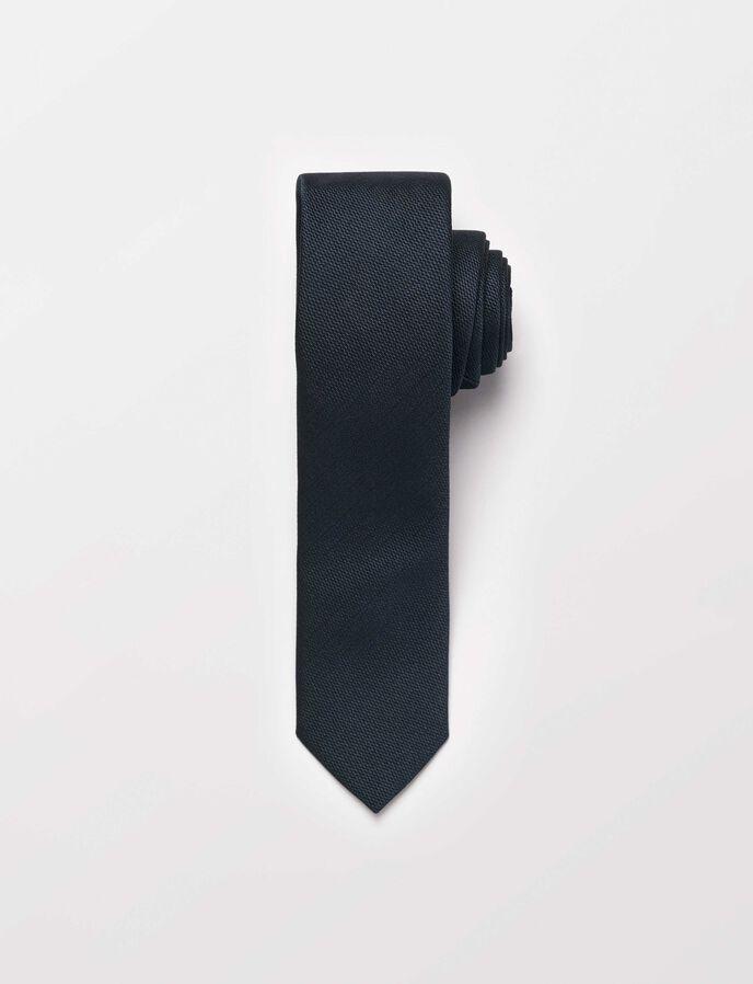 Samuell5 tie in Dark Jeans Blue from Tiger of Sweden