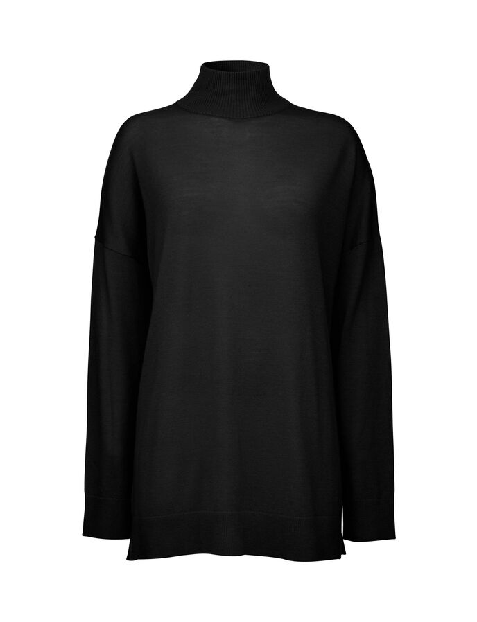 SPIN PULLOVER in Black from Tiger of Sweden