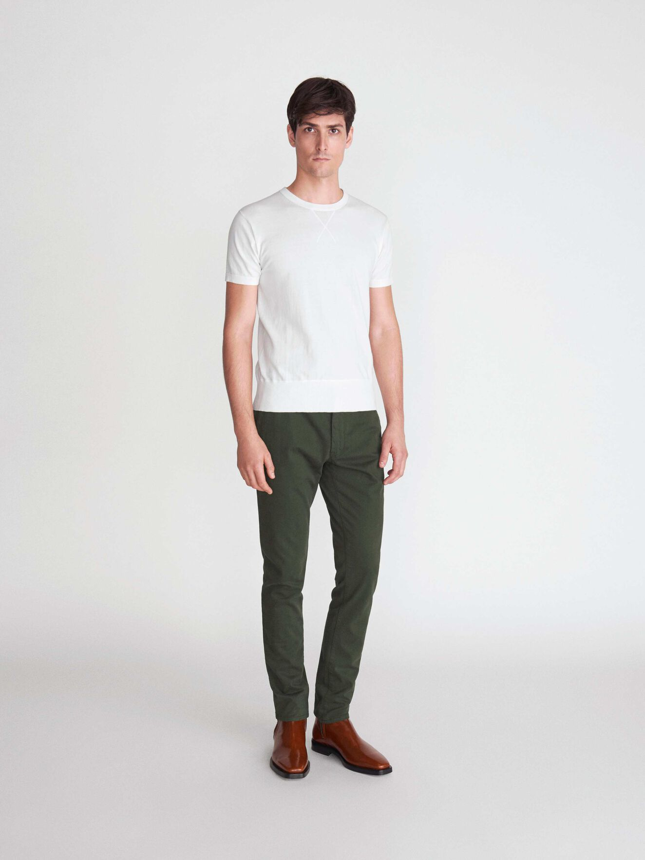 Transit 4 Trousers in Military Green from Tiger of Sweden