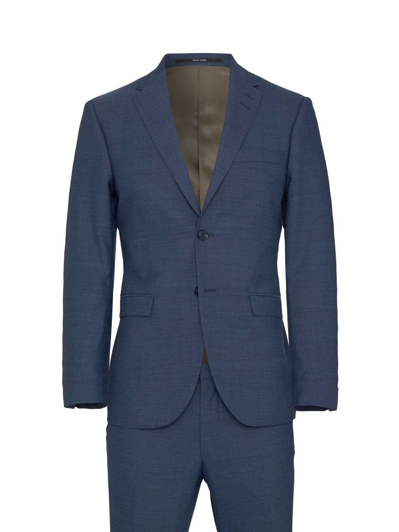 Henrie Suit in Port Blue from Tiger of Sweden