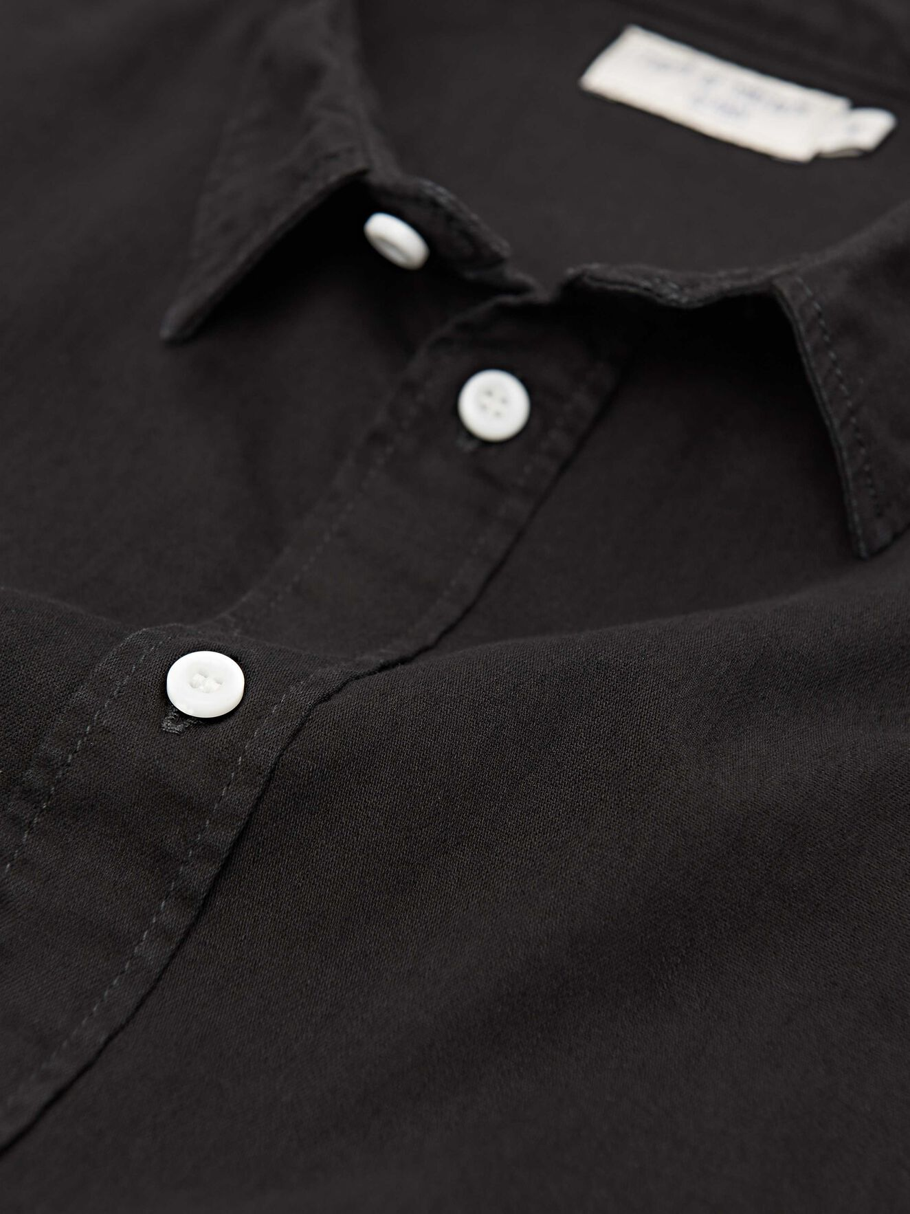 Pure Np Shirt in Black from Tiger of Sweden