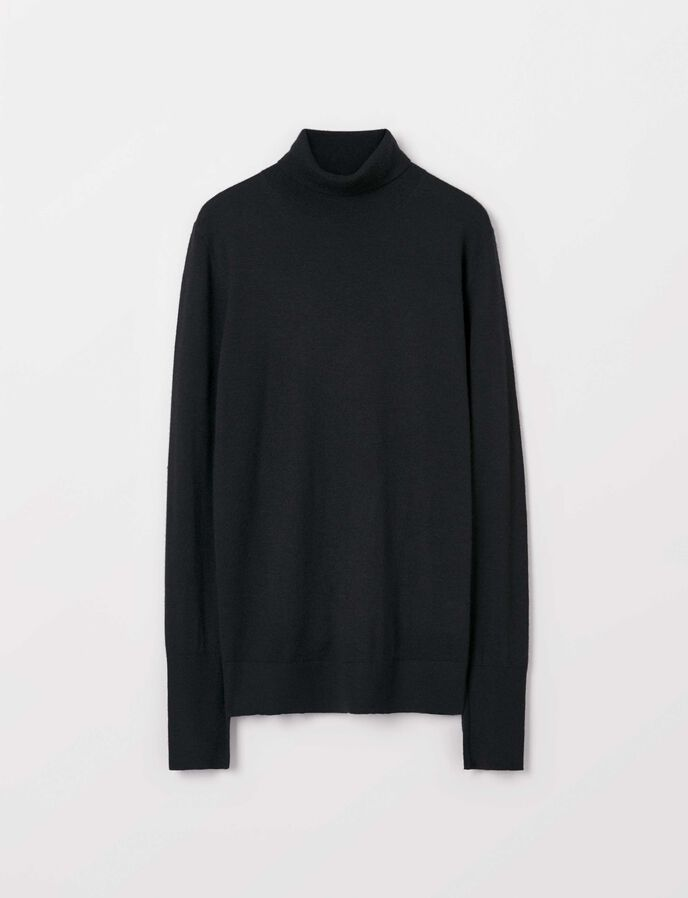 Macella Pullover in Midnight Black from Tiger of Sweden