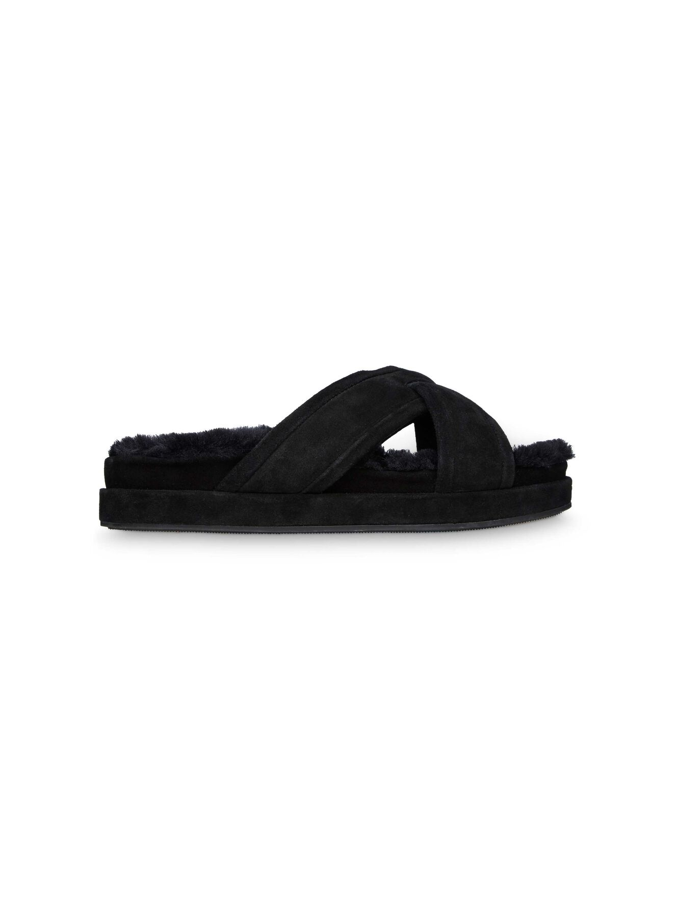 Thierry F sandal in Black Suede from Tiger of Sweden