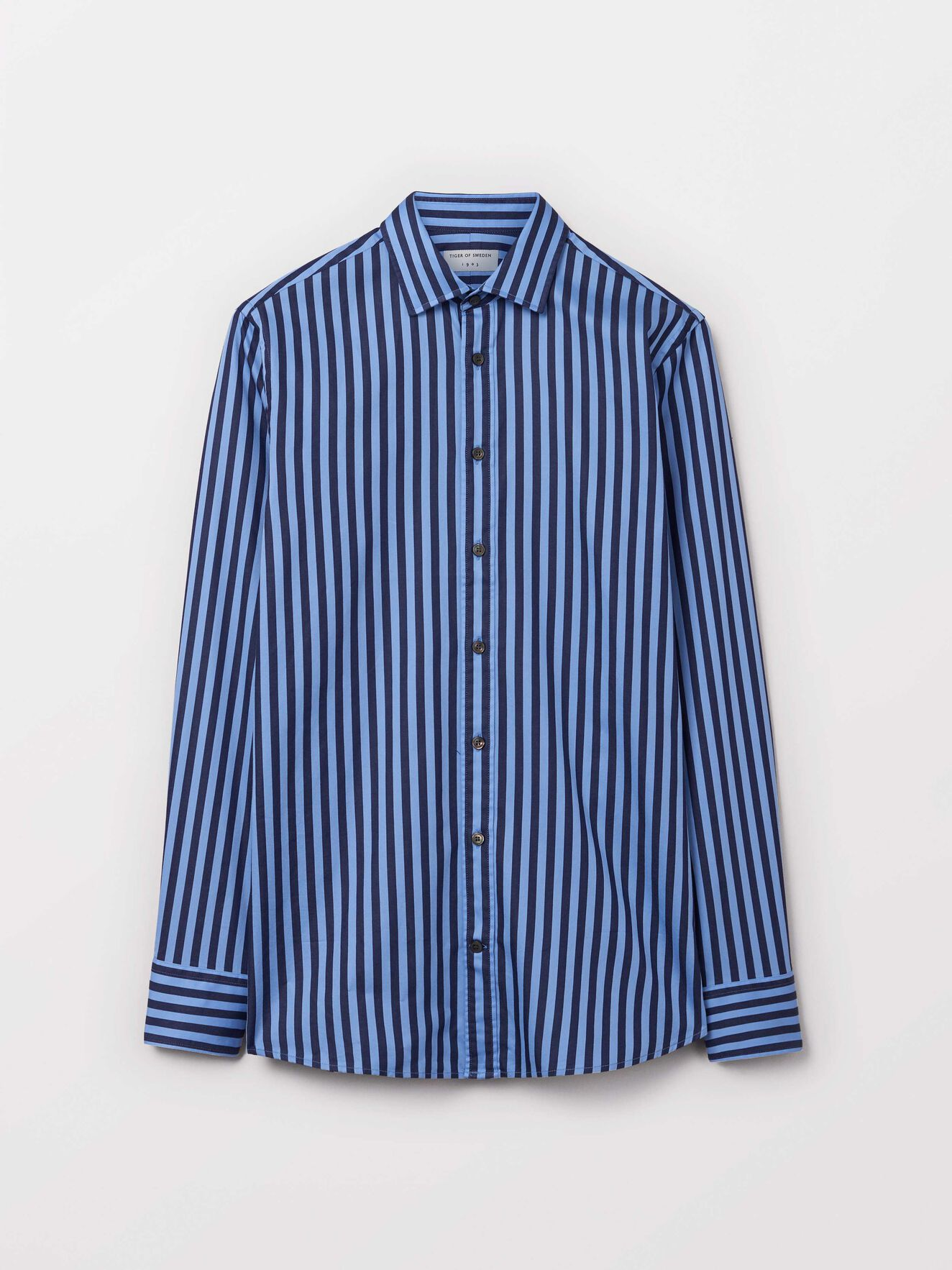 Fridolf Shirt in Light blue from Tiger of Sweden