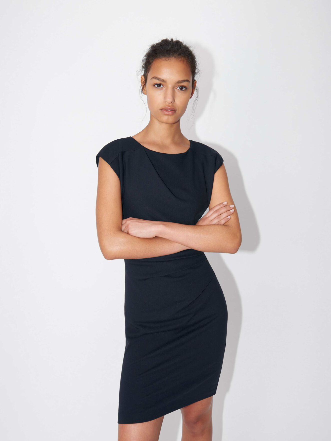 Mi stretch dress  in Light Ink from Tiger of Sweden
