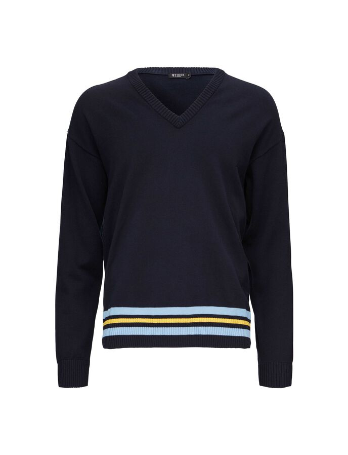 ARKADA PULLOVER in Light Ink from Tiger of Sweden