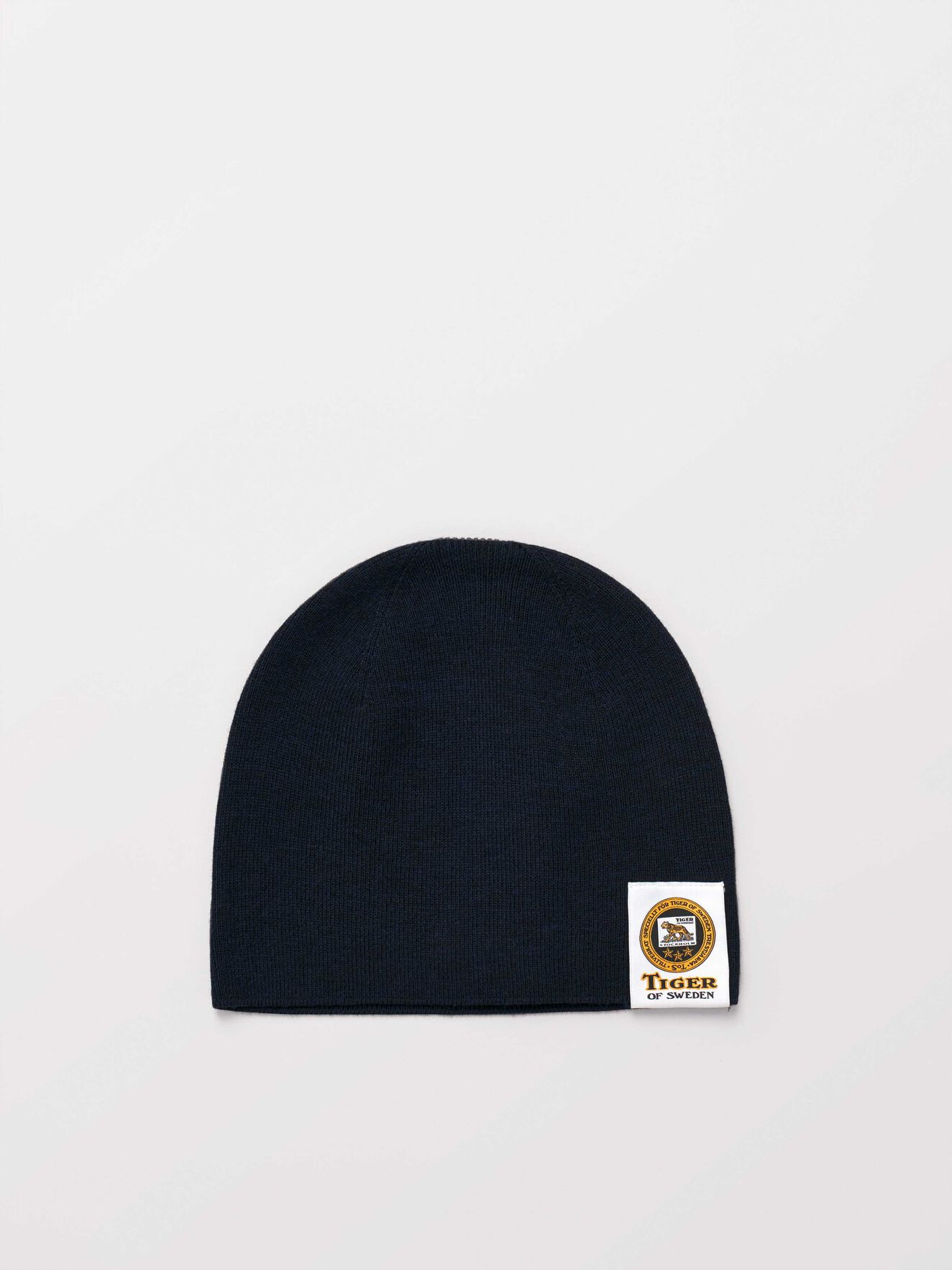 Sannder Beanie in Light Ink from Tiger of Sweden