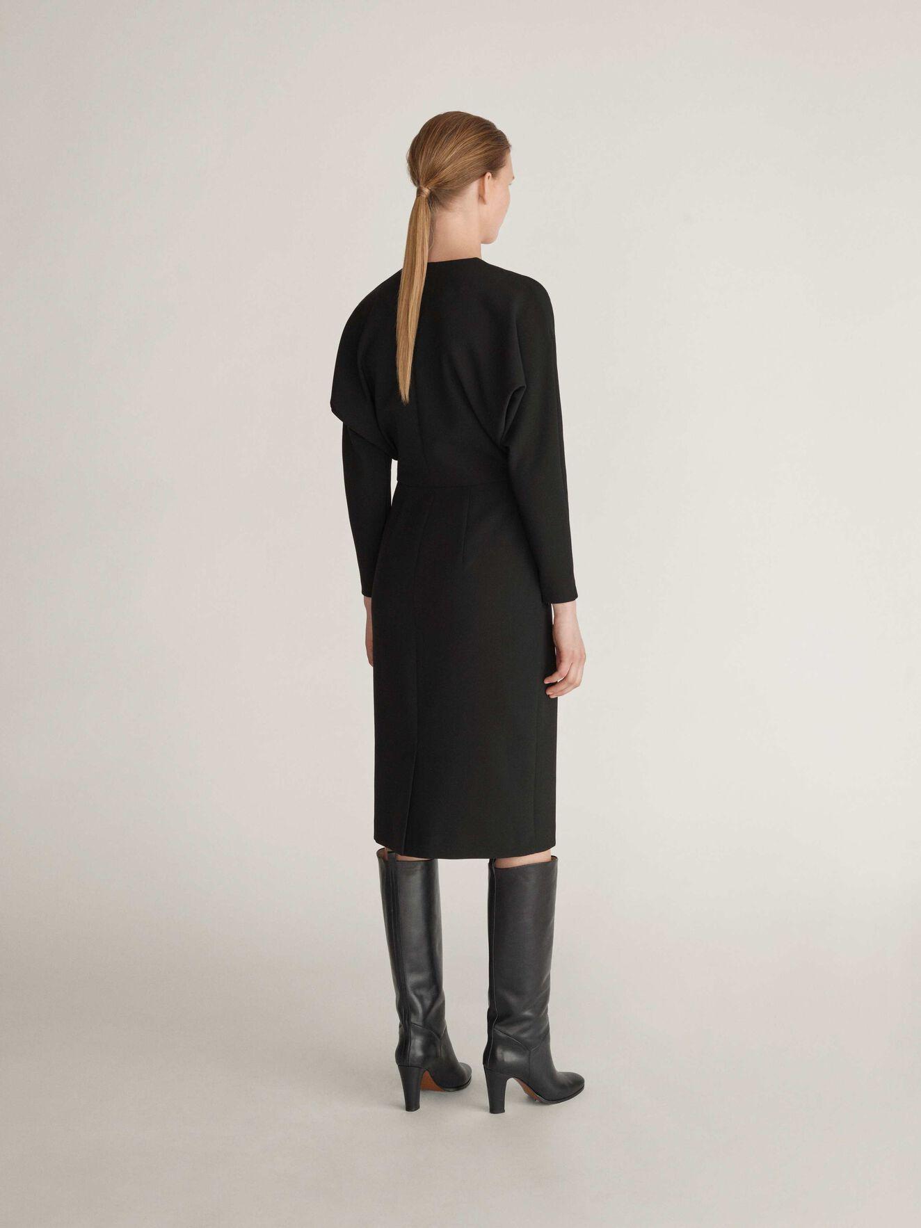 Assulu Dress in Midnight Black from Tiger of Sweden