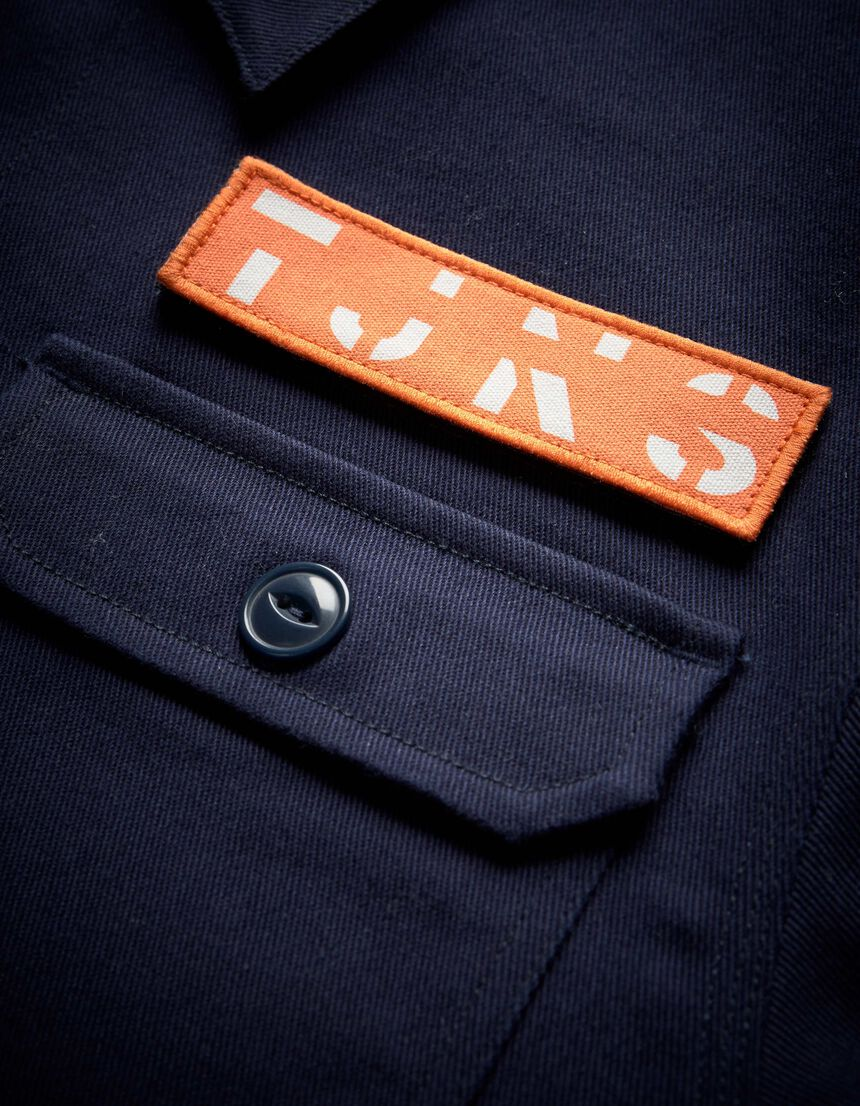 DUO JACKET in Maritime Blue from Tiger of Sweden
