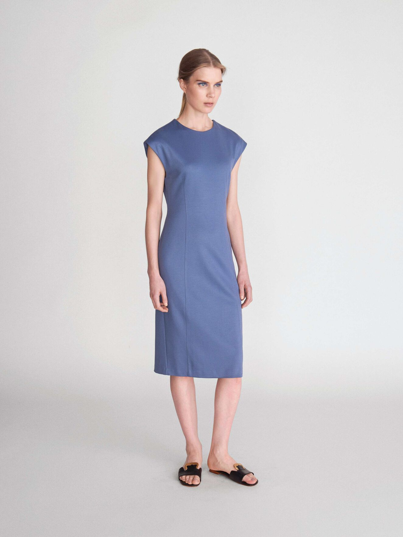 Cady 2S Kleid in Soft blue from Tiger of Sweden
