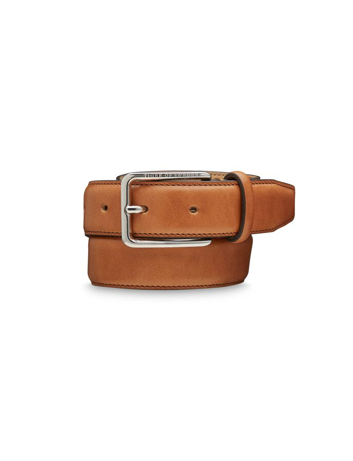 ILYAS BELT in Cognac from Tiger of Sweden