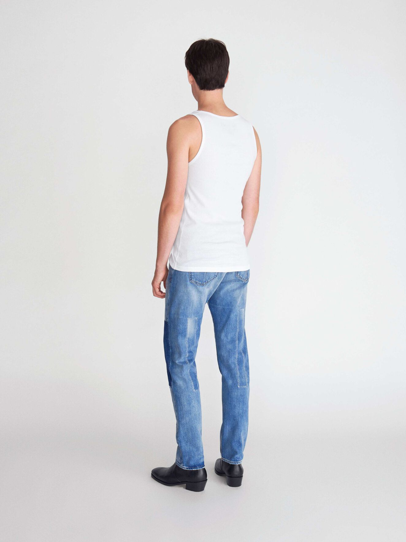 Bhanan Tank Top in White from Tiger of Sweden