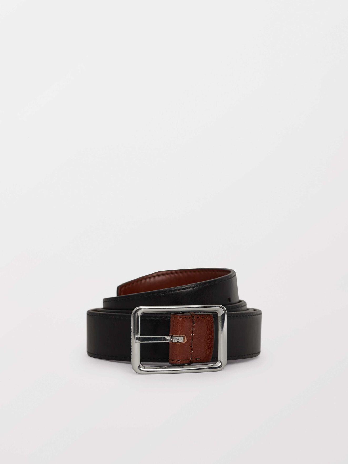 Burse R Belt in Black from Tiger of Sweden