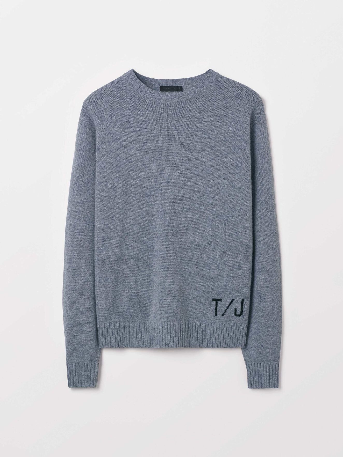 Saif Pullover in Med Grey Mel from Tiger of Sweden