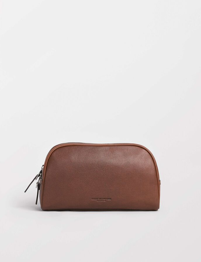 Bonardi toiletry bag in Medium Brown from Tiger of Sweden