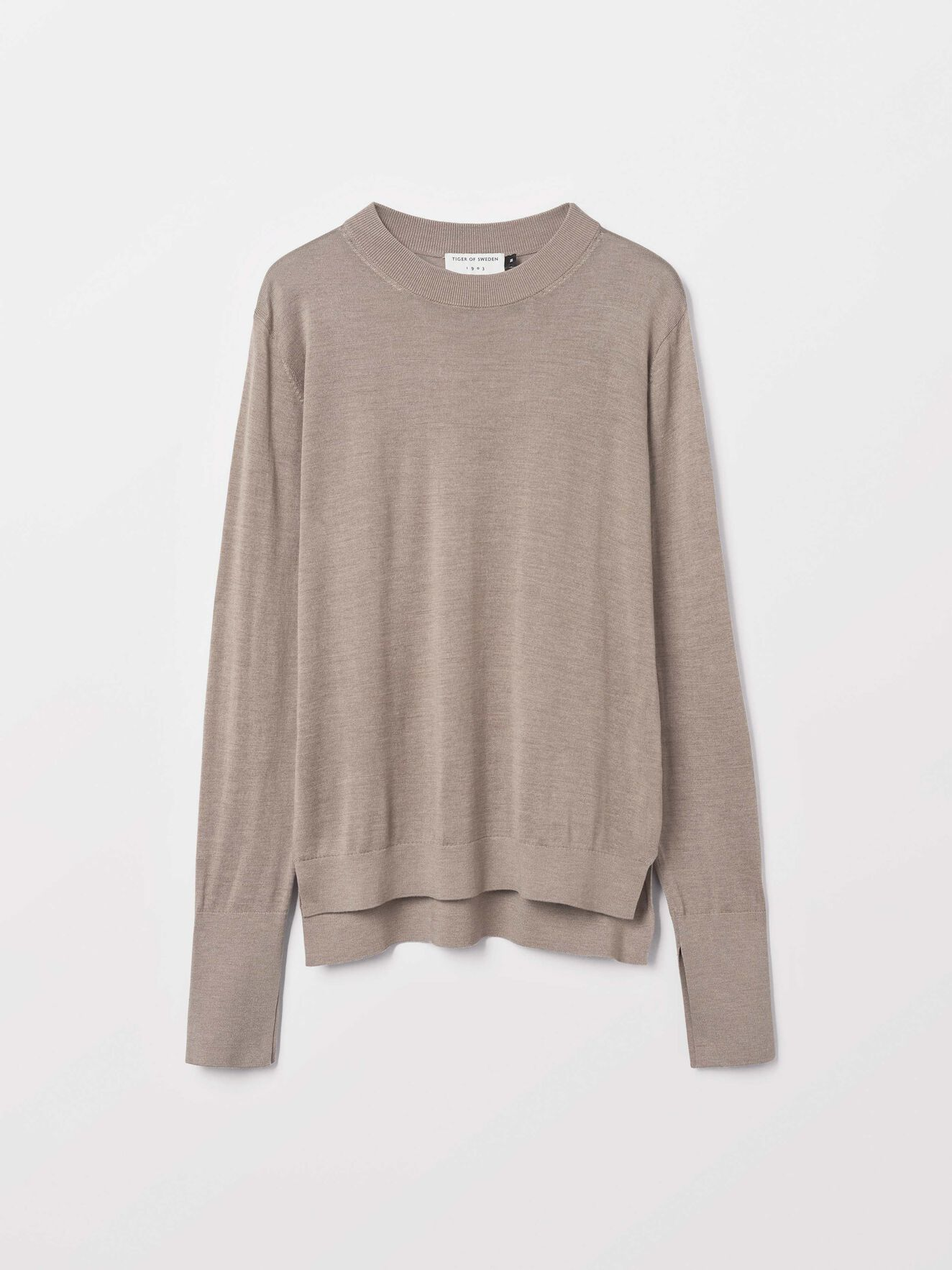 Macette Pullover in Macchiato from Tiger of Sweden