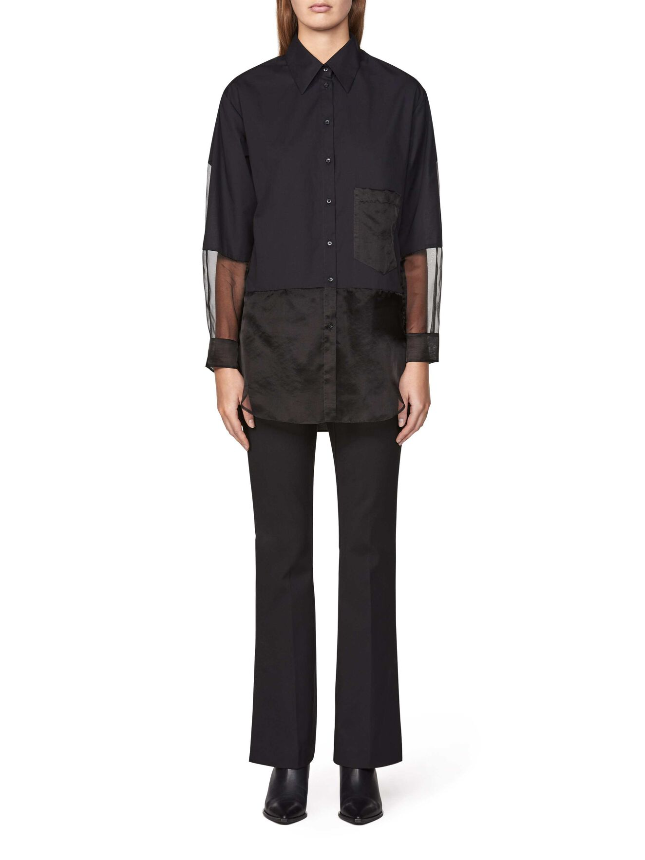 KAKIA BLUSE in Midnight Black from Tiger of Sweden