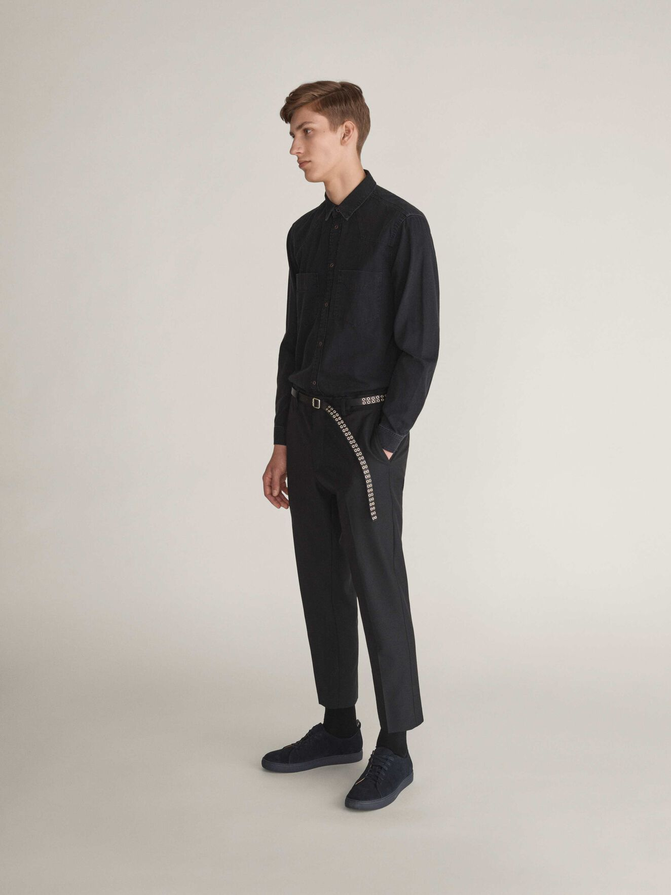 East Hose in Black from Tiger of Sweden