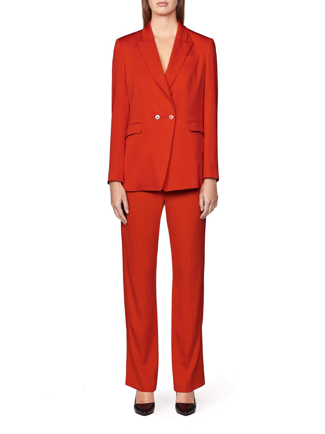 Delara Blazer in Flame Red from Tiger of Sweden