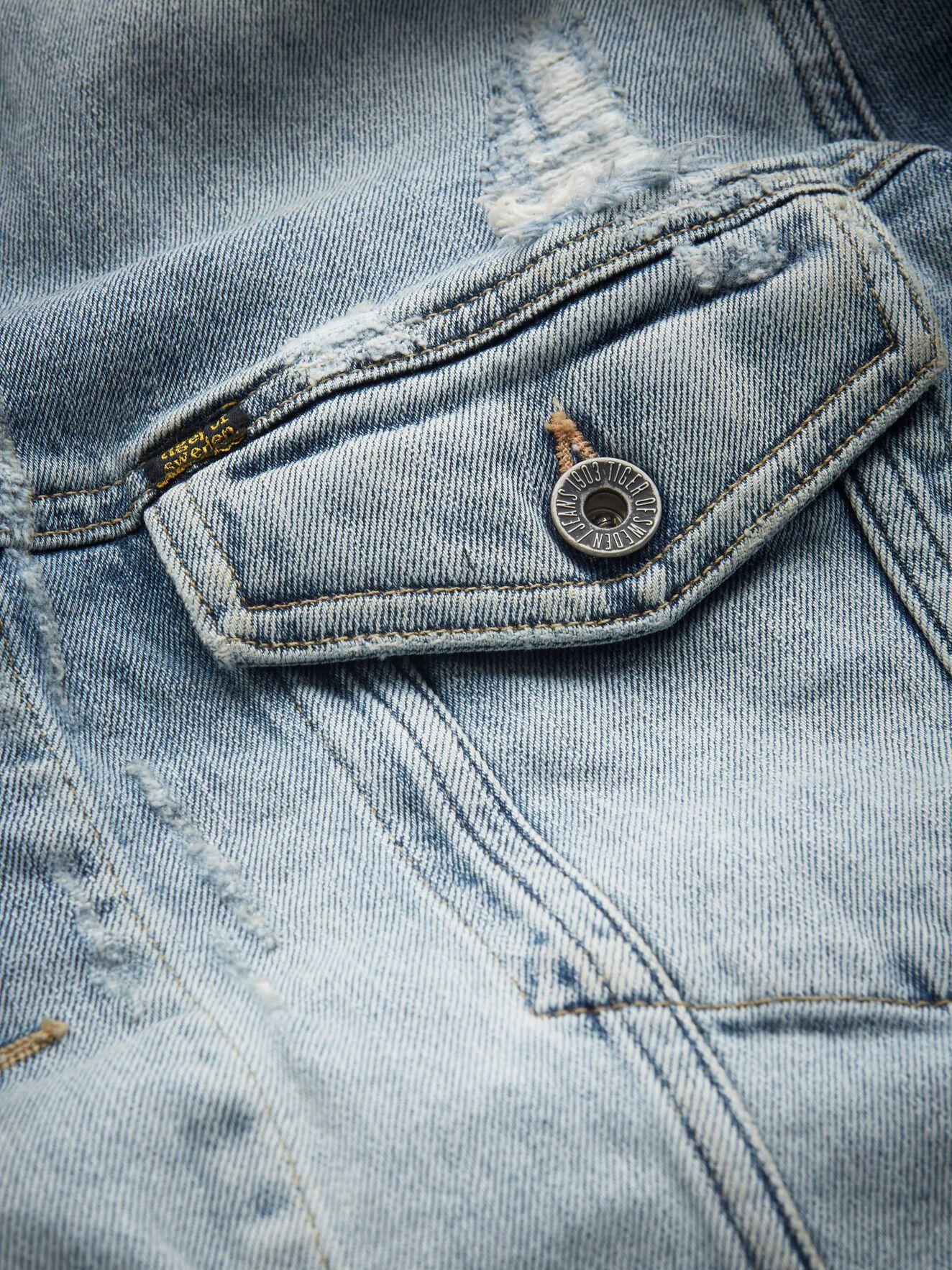 f24ee603 ... Primal denim jacket in Pale Jeans Blue from Tiger of Sweden