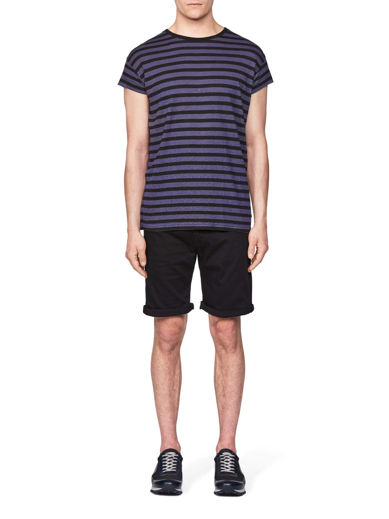 Wrong T-Shirt in Black from Tiger of Sweden