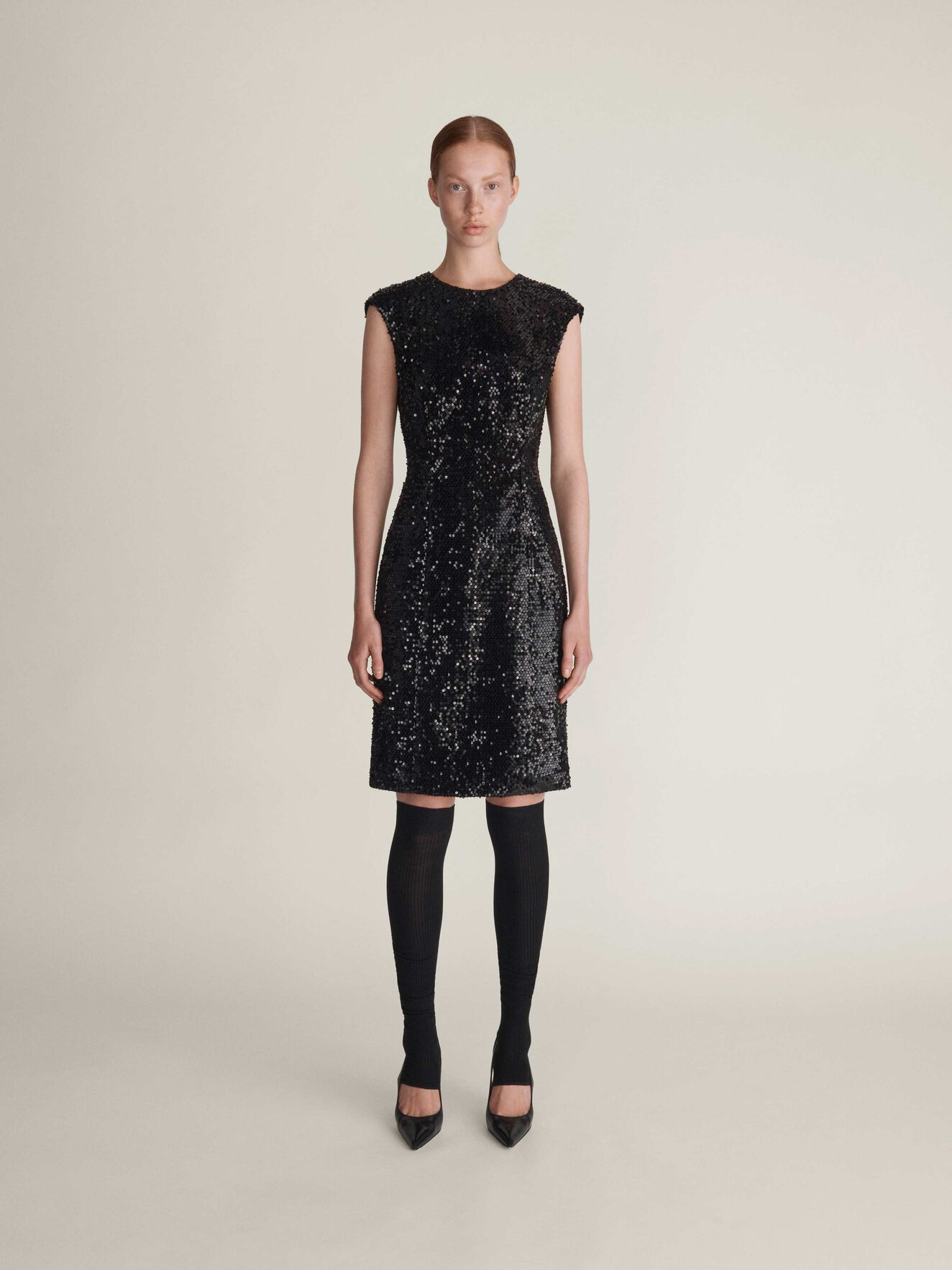Azha Dress in Midnight Black from Tiger of Sweden