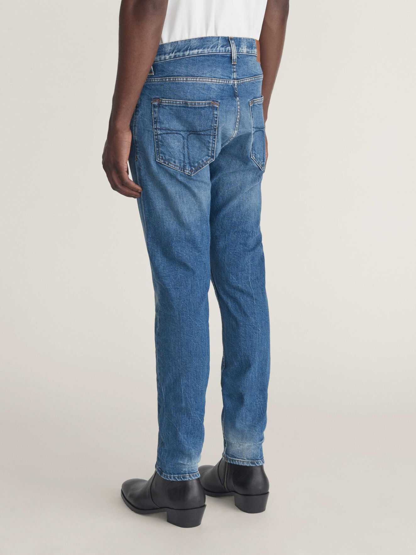 Pistolero Jeans in Medium Blue from Tiger of Sweden